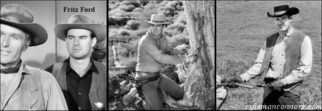 Fritz Ford - Fredrick 'Fritz' Apking - The Rifleman