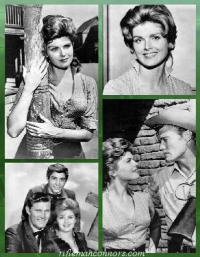 Patricia Blair - Lou Mallory - The Rifleman