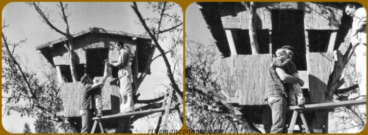 Chuck Connors - The Tree House that Chuck & Joe Built